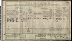 Hilarious, 1911 census, someone recorded their dog!