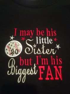 Items similar to Little Sister Baseball Shirt with BLING on Etsy Baseball Crafts, Baseball T, Baseball Shirts, Softball, Baseball Clothes, Baseball Uniforms, Little League Baseball, Brother Quotes, Team Mom