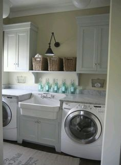 8 WeakintheKnees Laundry Room Designs Fold clothes Laundry