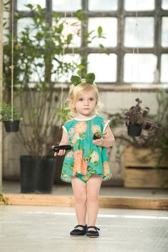 My mind is spinning: the color, the cut, the matching bloomer! wow.  #estella #designer #kids #fashion