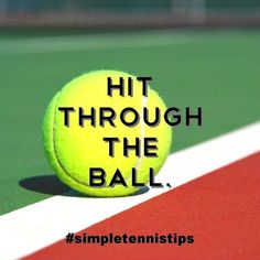 No matter what stroke you hit in tennis, you need to complete your stroke. This is especially true when hitting ground strokes. Whether it's a forehand or a backhand, you must complete your s…