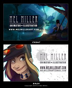 animator business cards - Google Search