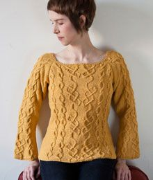 Harriet by Fiona Ellis, Twist Collective, Green Mountain Spinnery Cotton Comfort