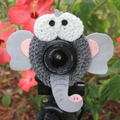 Even the big kids will sit still for their photo when you use this adorable Ellie The Elephant Lens Buddy!