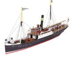 Milan Wallpaper, Steam Boats, Fishing Vessel, Wooden Ship, Boat Dock, Boat Plans, Model Ships, Model Building, Pictures To Draw