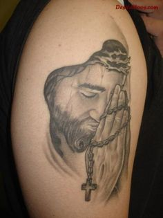 Jesus-Tattoo - 20 Holy Jesus tattoos <3 <3