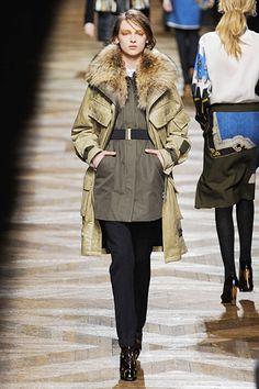 Dries Van Noten. Who wants that coat? (hand raised)