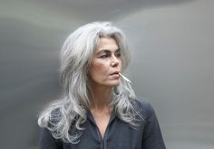This is how my hair will be when I'm old, no way am I going to settle for a white afro.