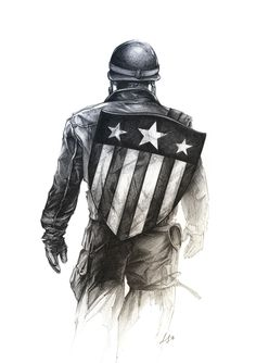 Drawing Marvel Captain America - by Lucky Star Marvel Captain America, Marvel Avengers, Captain America Drawing, Captain America Tattoo, Captain Marvel Male, Drawing Marvel, Marvel Drawings, Drawing Cartoon Characters, Marvel Characters