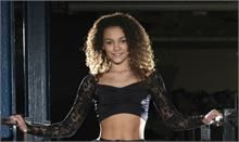 Starmaker Performance stretch lace, long sleeved catsuit with stirrups Star/P1042 from Danceforce