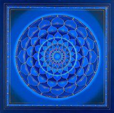 Sixth Chakra Mandala 6 Chakra, Third Eye Chakra, Throat Chakra, Chakra Mantra, Chakra Crystals, Chakra Healing, Zentangle, Reiki, Vishuddha Chakra