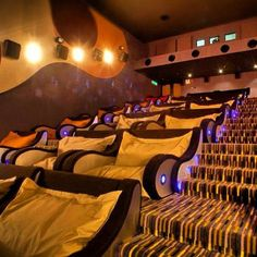 Badass!!! I want a small theater room in my house! Just a couple rows :) lol
