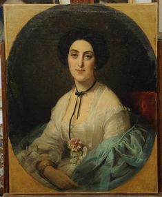 1850s Fashion, Ariana Grande Drawings, European Dress, Madame, Mona Lisa, Lady, Artwork, Fashion Portraits, Brunettes