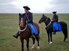 Hungary, Puszta, Riders, Horses,  Drezůra