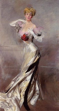 Paintings Reproductions Boldini, Giovanni Portrait of the Countess Zichy, 1905