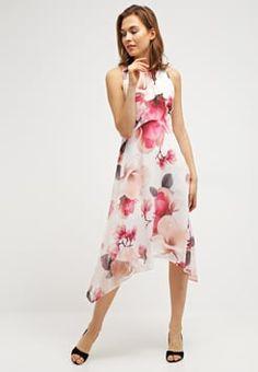 Wallis - WILD ORCHID  - Sommerkjole - ivory Wild Orchid, Wallis, Orchids, High Low, Ivory, Dresses, Fashion, Vestidos, Moda