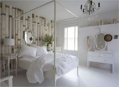 Ideas White Wood Wallpaper Wallpapers Accent Walls For 2019 Apartment Design, Home, White Wood Wallpaper, Contemporary Bed, Bedroom Inspirations, Modern Interior Design, Luxury Bedding, Interior Design, Small Apartment Design