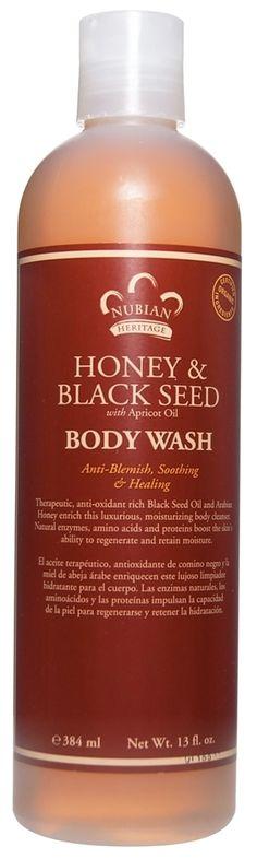 Nubian Heritage - Body Wash Honey & Black Seed - 13 oz. at LuckyVitamin.com