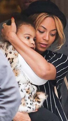 Beyonce, Jay Z and Blue Ivy at Windsor Restaurant in Barcelona, Spain - March 25th, 2014