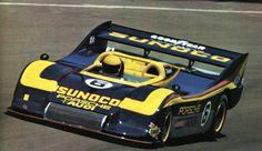 M.Donohue (Porsche 917-30 - Sunoco 5,4 litres 1150 Ch) Can Am 1973 - L'Automobile septembre 1973