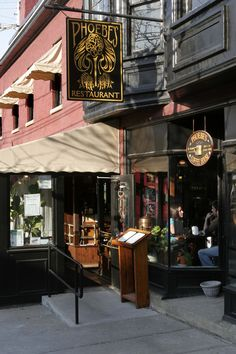 Phoebe's Restaurant - Armory Square in Syracuse NY. Armory square is the pace to relax with friends for coffee a meal or evening drinks.
