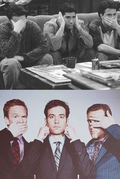 Two of my favorite TV shows ever...Friends and How I Met Your Mother!
