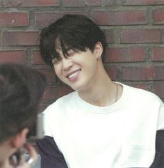 The hair, the smile, the jimin