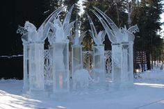 Amazing Ice Carving