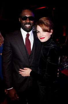 Idris Elba and Ruth Wilson from 'Luther'