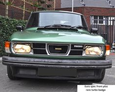 Saab 99 Turbo Front grille