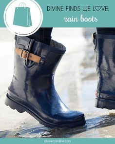 Need a way to make rainy days a little more fun? These boots won't just keep your toes toasty warm, they'll actually make you look forward to seeing clouds on the horizon!