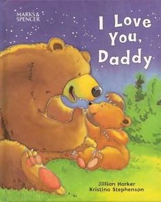 I Love You Daddy is the perfect first story book for the new dad to read.