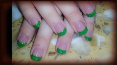 Green solar nails