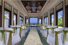 Cloud Nine Chapel Wedding at St. Regis Bali