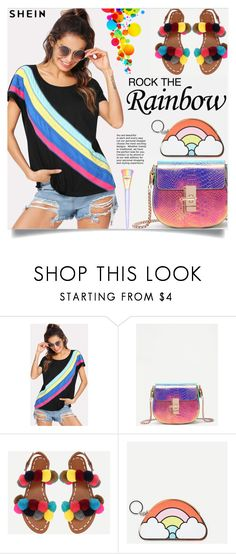 Rock the rainbow! Rainbow Shop, Polyvore Outfits, Rock, My Style, Stuff To Buy, Shopping, Collection, Design, Women