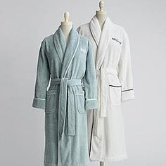 women's five-star terry robe from RedEnvelope.com
