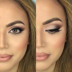 Nude Wedding Bridal Makeup Inspiration