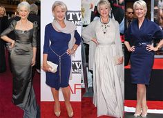 Ellen Mirren knows how to dress her body.  She is over 60 and looks fabulous!