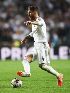 Sergio Ramos - Real Madrid v Atletico de Madrid - UEFA Champions League Final #footballislife