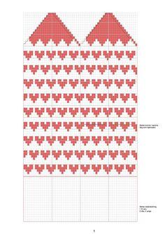 Hjärtvantarna – Dela dina vantar! Knitted Mittens Pattern, Knit Mittens, Knitted Gloves, Knitting Charts, Baby Knitting, Knitting Patterns, Crochet Patterns, Wrist Warmers, Hand Warmers