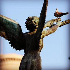 Angel#gaeta #lazio #italy #italia #igersgaeta #igerslazio #igersitalia #instagood #instaphoto #picture #pictureoftheday #monument #art
