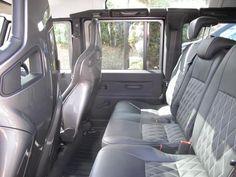 Defender 110 - interior comfort redefined.