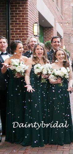 Simple Straight Floor-length Chiffon Long Bridesmaid Dresses.DB10835 – DaintyBridal Junior Bridesmaid Dresses, Wedding Dresses, Spring Festival, Affordable Dresses, Famous Brands, Fabric Swatches, Dream Dress, Cocktail Dresses, Pretty Dresses