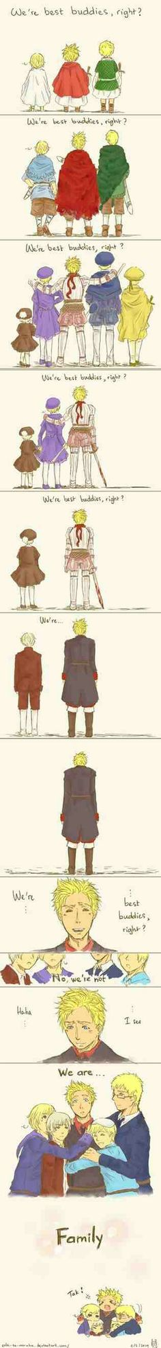 The Nordics are the best family ever ^-^