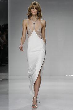 Gigi Hadid's Body Plays Peekaboo in Versace