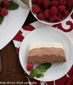 Triple Chocolate Terrine | an exquisite special occasion dessert!
