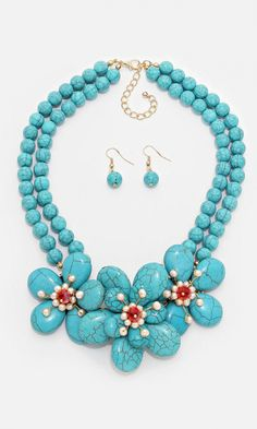 Turquoise Capri Necklace