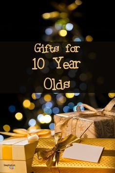 Time to buy a gift for your 10 year old boy but what? From books to robotics to games, this list of gift ideas for 10 year old boys and girls will help you find that perfect gift!