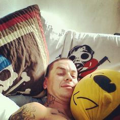 Instagram media by sidthe3rd - Pirate, SID and Pacman pillows, feelin a little spoiled :-D
