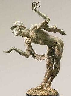 """""""Rain"""" (Atelier) Bronze h: 16 x w: 6 x d: 10 in #RichardMacDonald #Sculpture"""